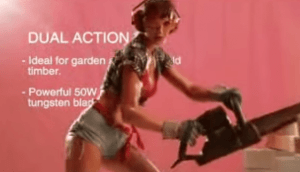 Of course, if you like power tools, have at it. Like these girls. (Watch the video)